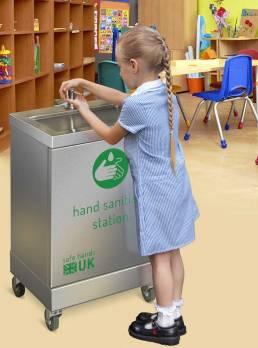 hand-sanitiser-station-schools