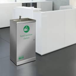 hand sanitiser dispenser freestanding