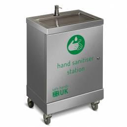 hand sanitiser dispenser mobile